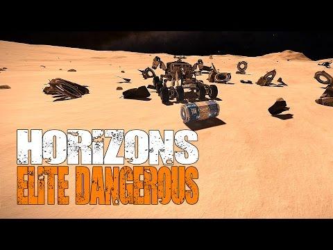 Elite: Dangerous Horizons - Points of Interest and Ship Wrecks (plus combat) on Planets