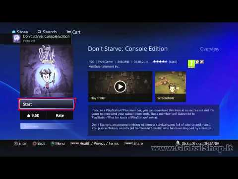 PlayStation 4 (PS4): How to download PSN PLUS games