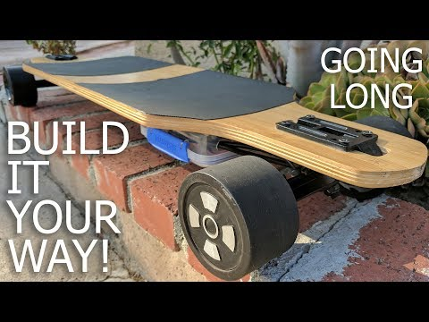 Awesome Longboard | 21mph / $370 / Easy Build
