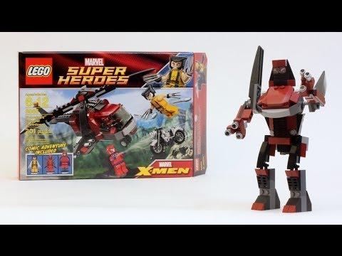 Wolfsbane Robot - LEGO Set 6866 Alternate Model