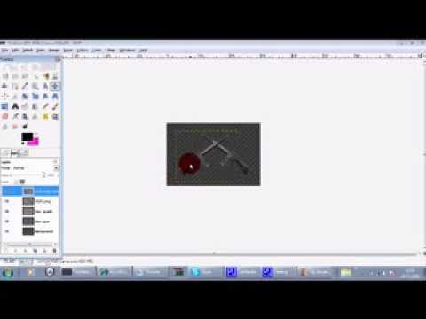 HOW TO MAKE A CLAN LOGO ON GIMP 2.6