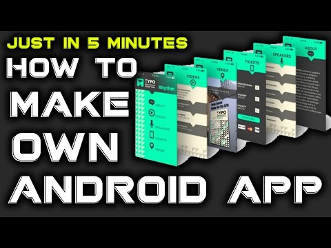 How To Make Free Android App Online Without Coding Hindi Tutorial