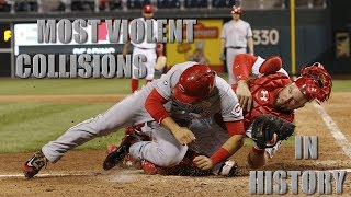 MLB | Most Violent Home Plate Collisions in History