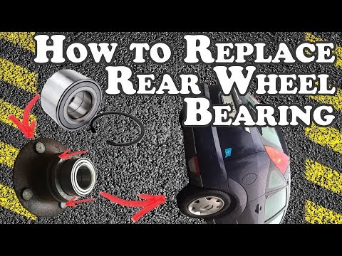 How to replace Rear Bearing (with ABS) - 2001 Ford Focus