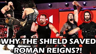 Reason Revealed - Why THE SHIELD Saved ROMAN REIGNS??!!
