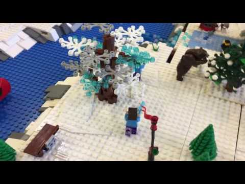 Wellesley Free Library LEGO Winter Village 2016
