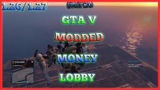 [1.26/1.27] GTA 5 ONLINE - FUN MONEY LOBBY W/ CRAZY MODZ