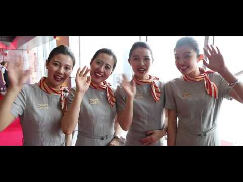 Official Inaugural Video: Hainan Airlines first flight from Manchester to Beijing