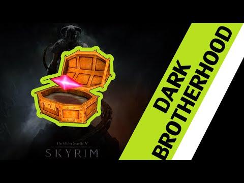 Skyrim - Dark Brotherhood Sanctuary Stone of Berenziah Location