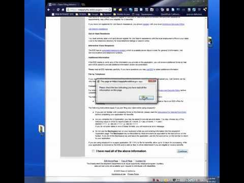 Claim California Unemployment Insurance via EDD