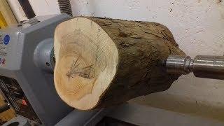 Woodturning - Log to Bowl