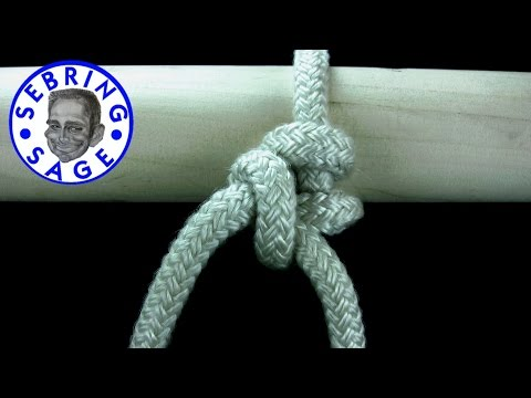 Knot Tying: The Butcher's Knot