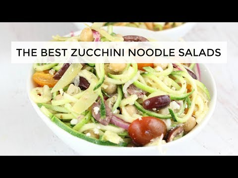 The Two Best Zucchini Noodle Salad Recipes