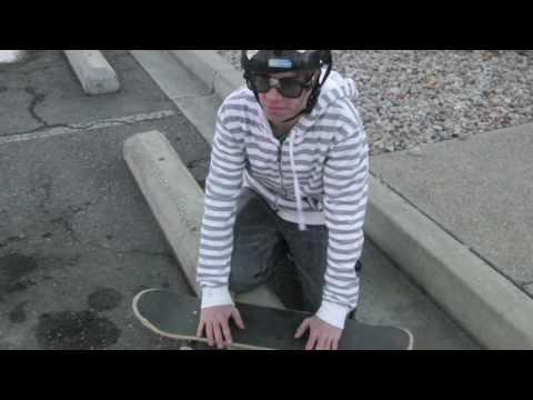 How to ollie while moving/farther with Melvin the nerd