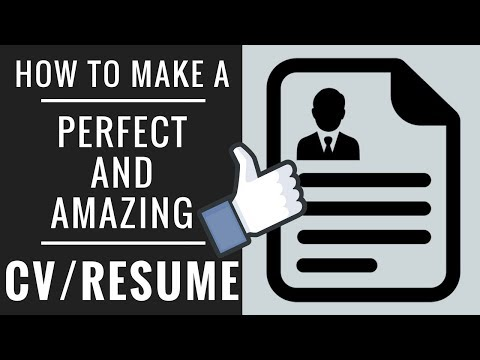 How To Write a Professional CV | Resume format in MS Word | Tips & Tricks in Urdu/Hindi