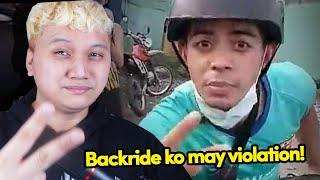 """""""BACKRIDE KO ANG MAY VIOLATION"""" - Bagong meme na naman!"""