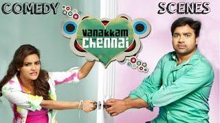 Vanakkam Chennai (2013)   Best Comedy Scenes   Shiva   Priya Anand
