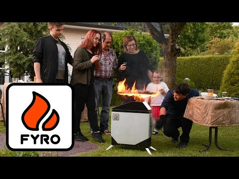 FYRO Stove: Patent-pending biomass stove for outdoor cooking
