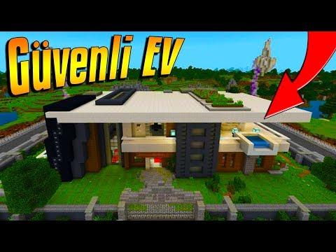 DÜNYANIN EN GÜVENLİ EVİ MCPE   Minecraft PE: BKT