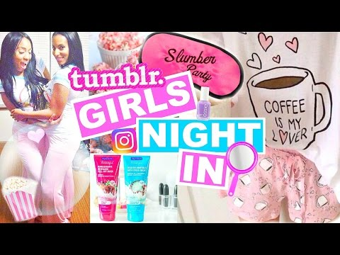 How To Have an AWESOME Sleepover! Tumblr Inspired Sleepover Ideas for Girls Night In!
