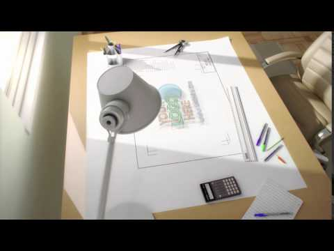 Architect Logo Reveal build construction project business corporate company intro