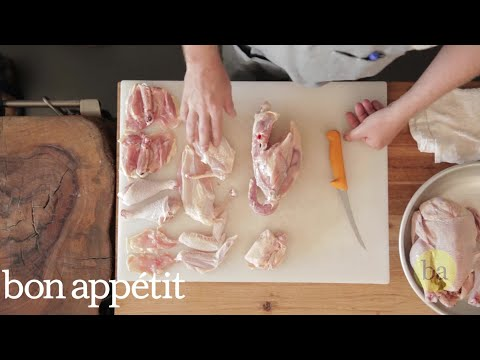 How to Break Down a Chicken Like Pro Butcher Jesse Griffiths