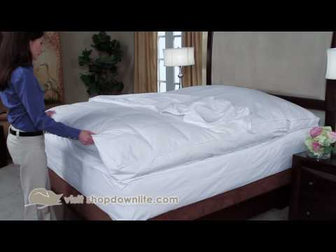 How To Protect Your Feather Bed - DOWNLITE