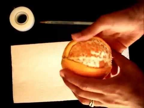 Orange peel pengun instruction