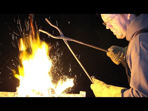 How to build a forge at home and on a budget! Blacksmithing for beginners!
