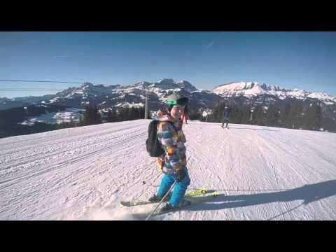 Praz Sur Arly, Megève and Chamonix Ski Trip 2016 | Go Pro
