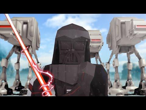 Minecraft | Good vs Evil STAR WARS HOTH INVASION! (Darth