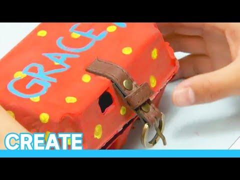 Learn How To: Make an egg carton jewellery box