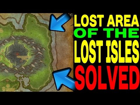 World of Warcraft: Lost Isles Lost Area SOLVED !!