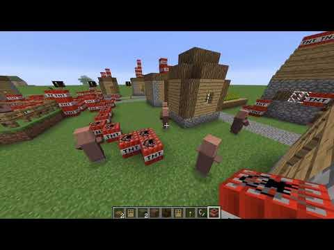 Camp horseshoe Minecraft