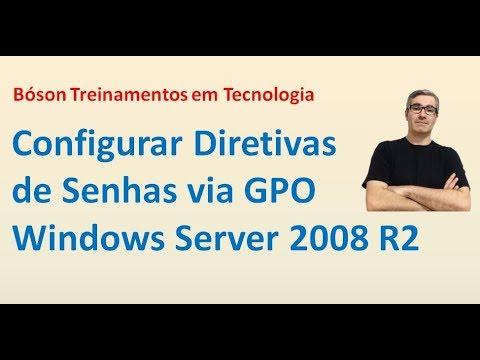 27- Configurar Diretivas de Senhas via GPO no Windows Server 2008 R2