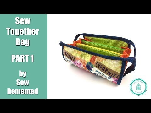 Sew Together Bag Part 01 - Intro and Cutting