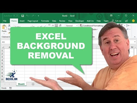 Excel in Depth 35 - Background Removal
