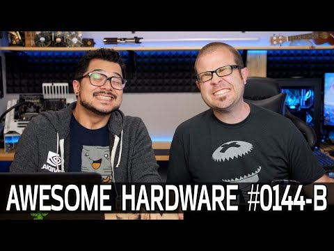 Awesome Hardware #0144-B: HTC Vive Pro, PUBG Mobile, Deleting Facebook