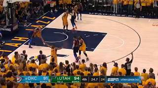 Did the refs rig the finals seconds of Thunder-Jazz Game 6? Paul George was fouled!