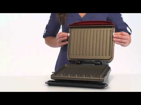The George Foreman 4-Serving Removable Plate Grill