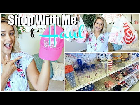 TARGET SHOP WITH ME & HAUL | SUMMER 2018