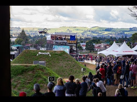 2018 CrankworxRotorua Recap - Crankworx Rotorua Slopestyle in Memory of McGazza