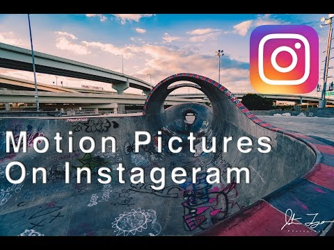 How To Make Moving Pictures On Instagram