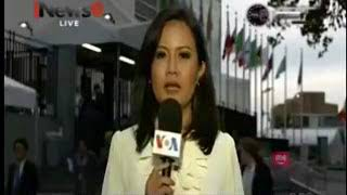 Laporan Langsung VOA untuk iNews: Sidang Majelis Umum  PBB