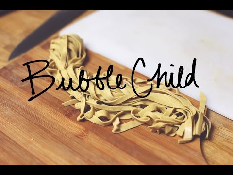 gluten free fettuccine pasta - hand made, no machine!