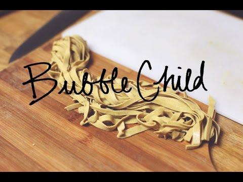gluten free fettuccine pasta - hand made, no machine!