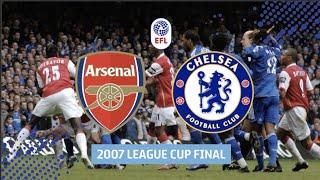 Fiery Arsenal v Chelsea League Cup Final in Full!