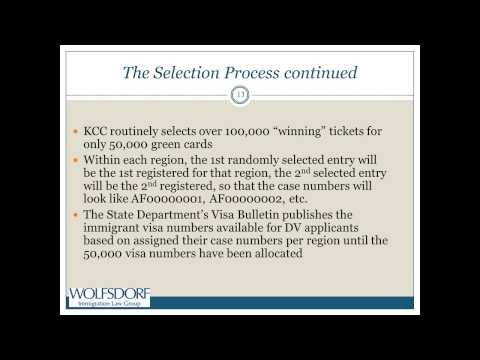 DV Lottery - It's Simple - Really? 10/1/2013