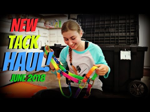 MY NEWEST TACK HAUL JUNE 2018