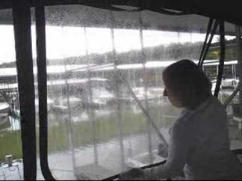 Keep Your Boat's Isinglass Windows Looking Like New